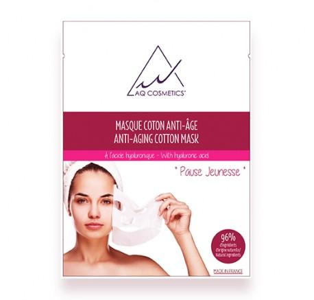 Masque coton Anti-Age   AQ Cosmetics
